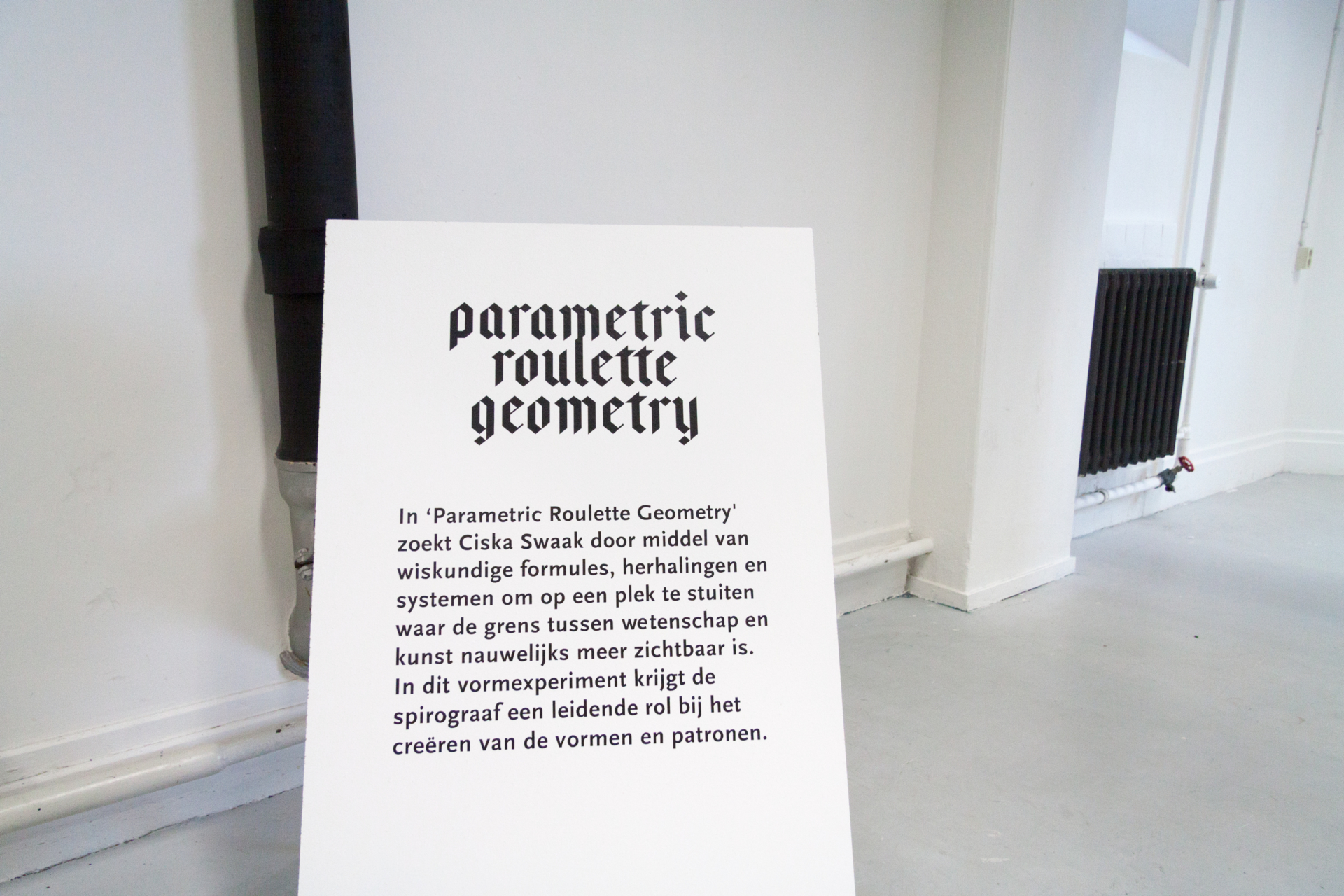 Ciska Swaak Parametric Roulette Geometry